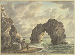 Arched Rock in Freshwater Bay